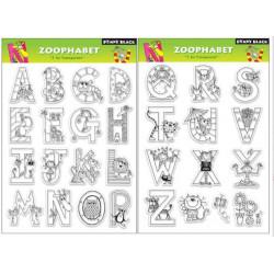 Tampon - Penny Black - Alphabet Zoo