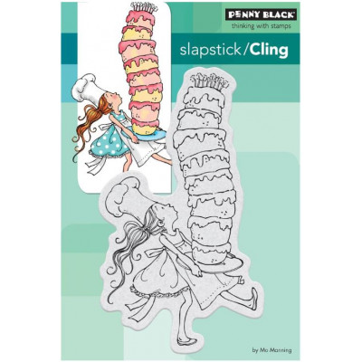 Tampon cling - Penny Black - Super Gateau