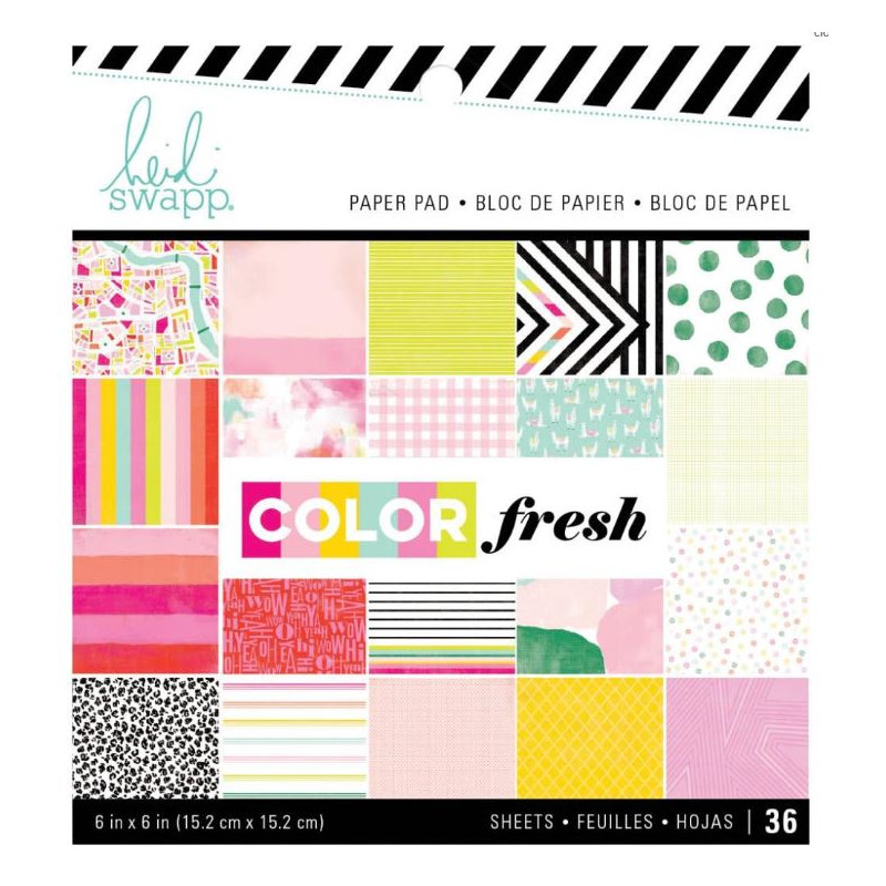Mini Pack 15x15 - Heidi Swapp - Color fresh
