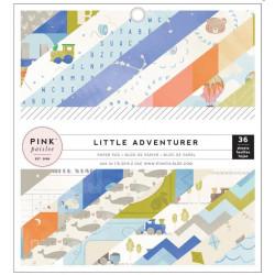 Mini Pack 15x15 - Pink paislee - Petit aventurier