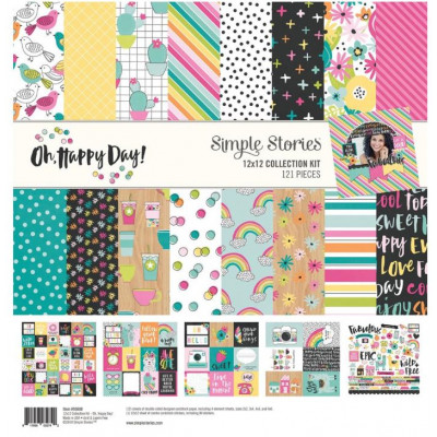 Pack 30x30 - Simple Stories - Oh, jours heureux!