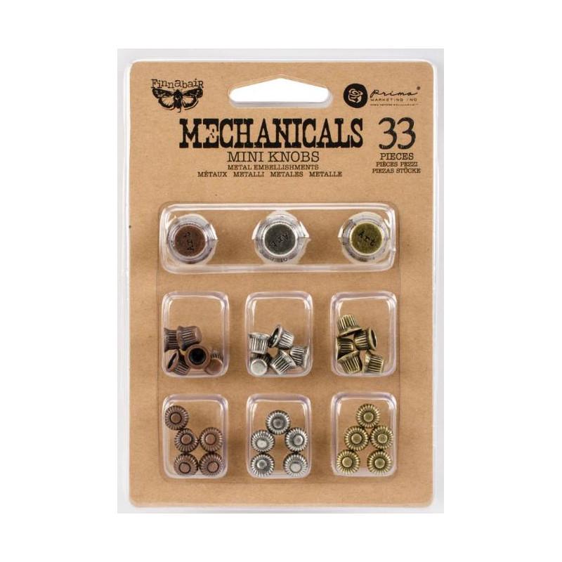 Prima - Finnabair - Embellissements - mini boutons métal