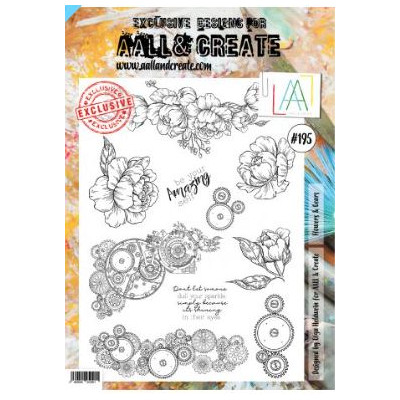 AALL and Create Stamp Set -195