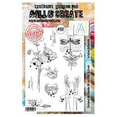 AALL & Create Stamp Set -197 - Libellule