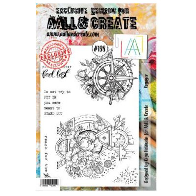 AALL & Create Stamp Set -198 - Cadran