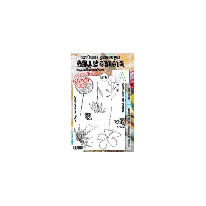 AALL & Create Stamp -199 - Fleurs