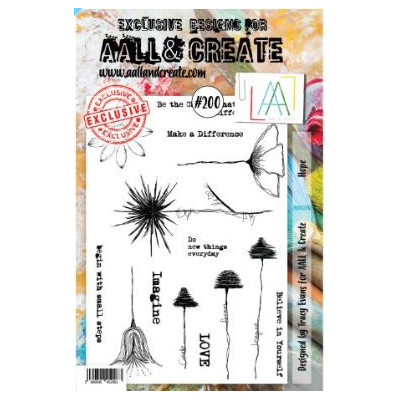 AALL & Create Stamp -200 - Fleurs Tiges