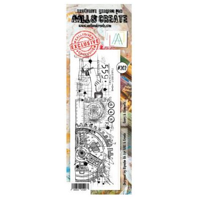 AALL & Create Stamp -202 - Roue