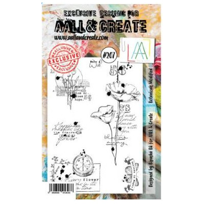 AALL & Create Stamp -207 - Coquelicot