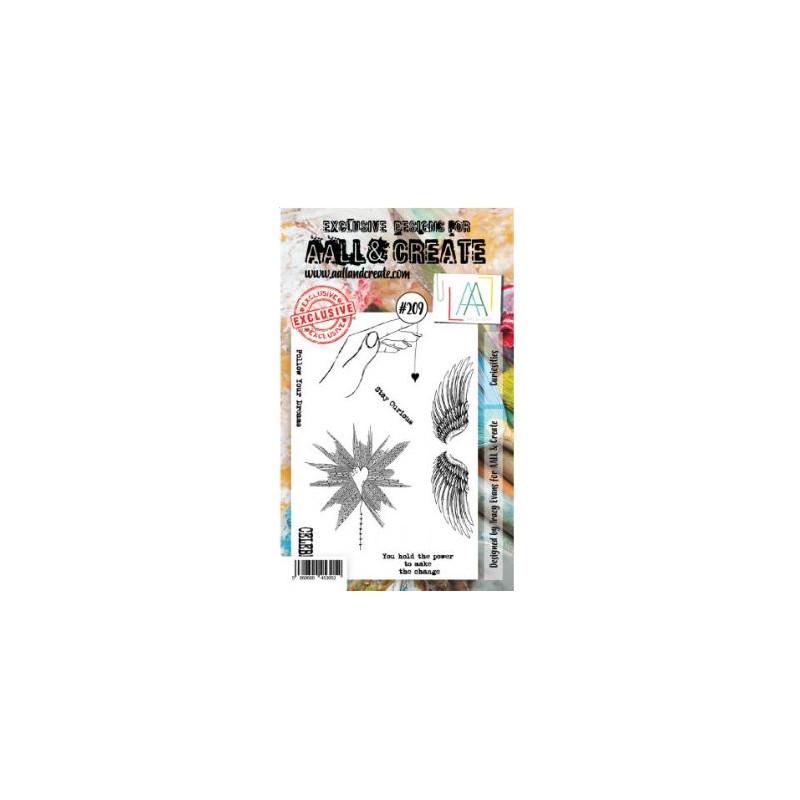 AALL & Create Stamp Set -209 - Coeur
