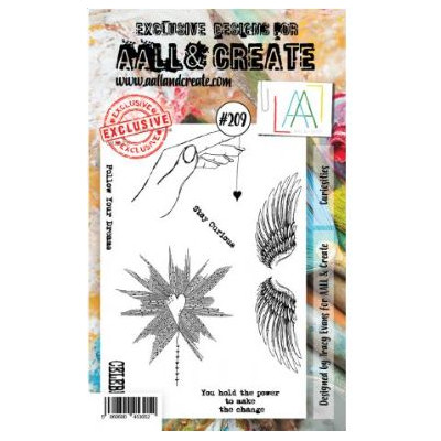 AALL & Create Stamp Set -209 - Coeur