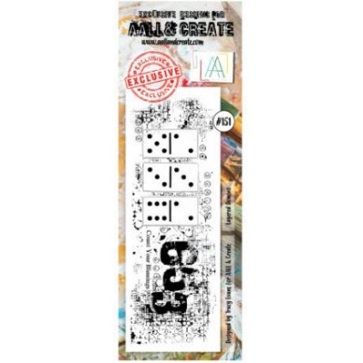 AALL and Create Stamp Set -151 - domino