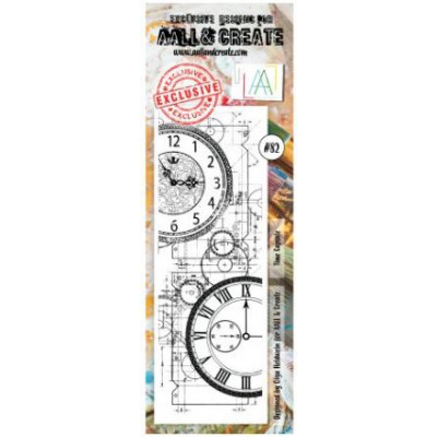 AALL and Create Stamp Set -82 - horloge