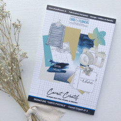 Carnet Créatif - Chou & Flowers - Collection Signature Carte Postale
