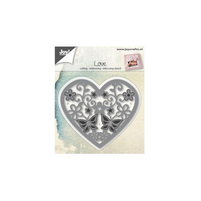 Joy!Crafts - Outil de découpe Coeur Papillon