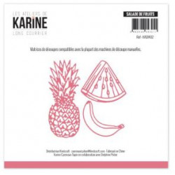 Die Les Ateliers de Karine - Long Courrier - Salade de fruit