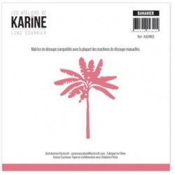 Die Les Ateliers de Karine - Long Courrier - Bananier