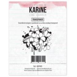 Tampons transparents Les Ateliers de Karine - Frangipanier