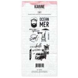Tampons transparents Les Ateliers de Karine - Surf