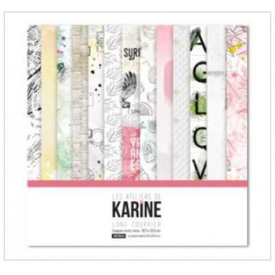 Pack 30x30 - Les Ateliers de Karine - Long Courrier La collection