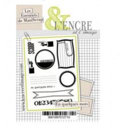Tampons transparents Les Ateliers de Karine - En Quelques Mots