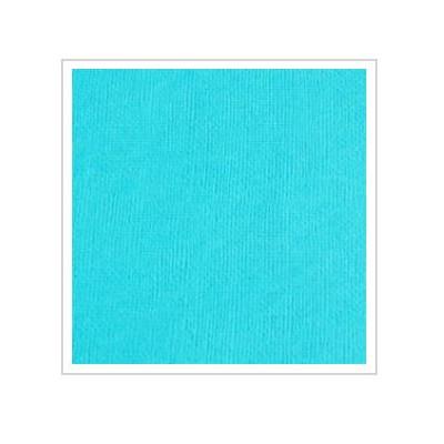 Cardstock texturé uni - Coloris bleu turquoise
