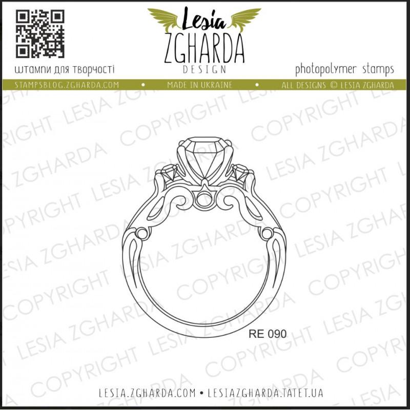 Tampon Lesia Zgharda - Wedding ring