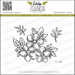 Tampon Lesia Zgharda - Flowers