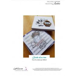 Carte et sa box par Amélie