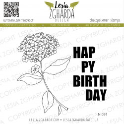 Tampon Lesia Zgharda - Set Happy Birthday