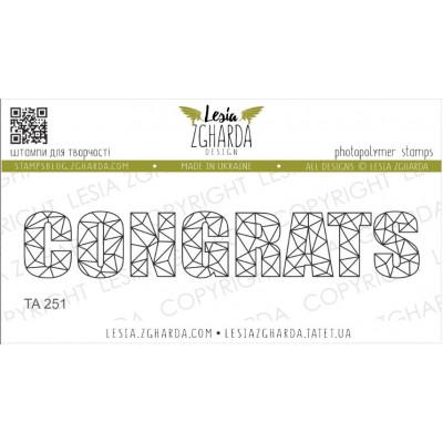 Tampon Lesia Zgharda - Congrats