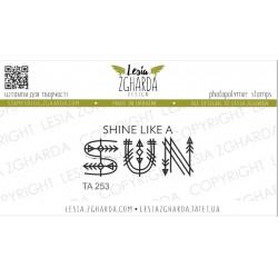 Tampon Lesia Zgharda - Shine like a sun