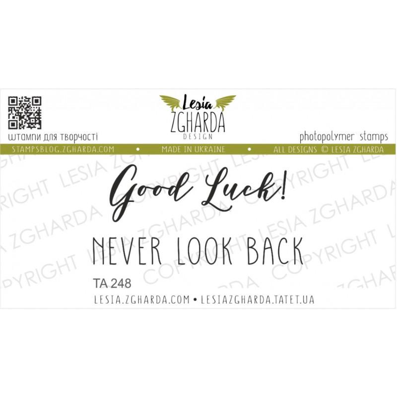 Tampon Lesia Zgharda - Good luck! Never look back