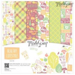 ModaScrap - Paper Pack 30x30 - Vie saine