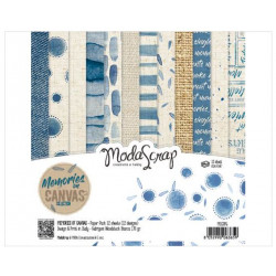 ModaScrap - Paper Pack 15.2x15.2 - Mémoire de tissu