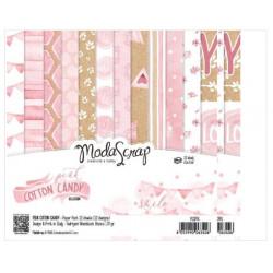 ModaScrap - Paper Pack 15.2x15.2 - Coton rose