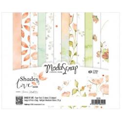 Modascrap - Paper Pack 15.2x15.2 - Nuances d'amour