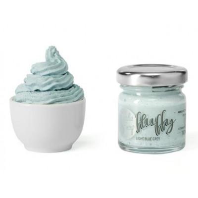 ModaScrap - Fluffy - Light Blue Grey