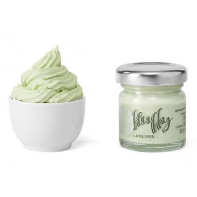 ModaScrap - Fluffy - Apple Green