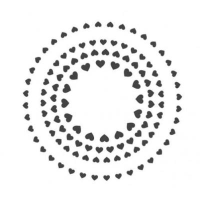 ModaScrap - Pochoir - Coeurs
