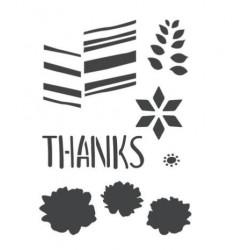 ModaScrap - Pochoir - Merci