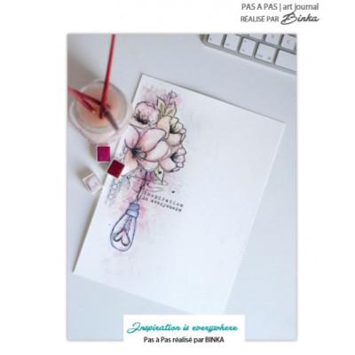 Tampons Aquarelle par Binka - Tuto