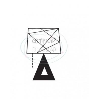 Comptoir Scrap - Tampon Transparent - Lampe