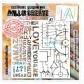 AALL & Create - Pochoir 002 -Love