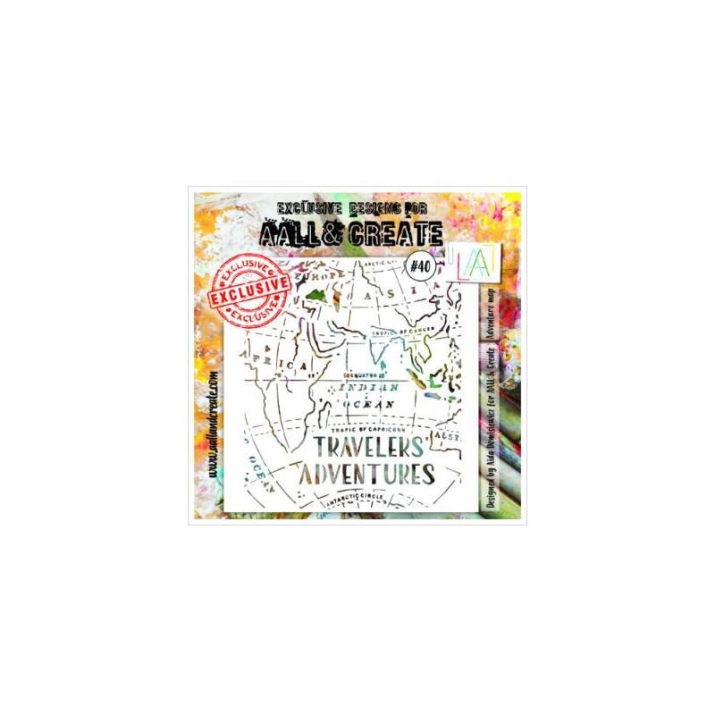 AALL & Create - Pochoir 040 - Travelers