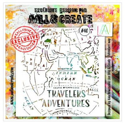 AALL & Create - Pochoir 040 - Travelers