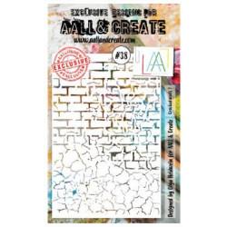 AALL & Create - Pochoir 038- Briques