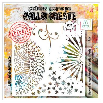 AALL & Create - Pochoir 027 - Roue