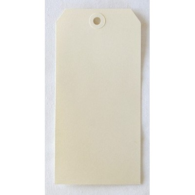 Etiquettes américaines 8x16 cm - Beige - Oeillet beige (10)