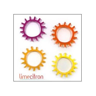 Décoration Acrylique Lime Citron - Soleil